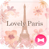 Cute Theme-Lovely Paris-