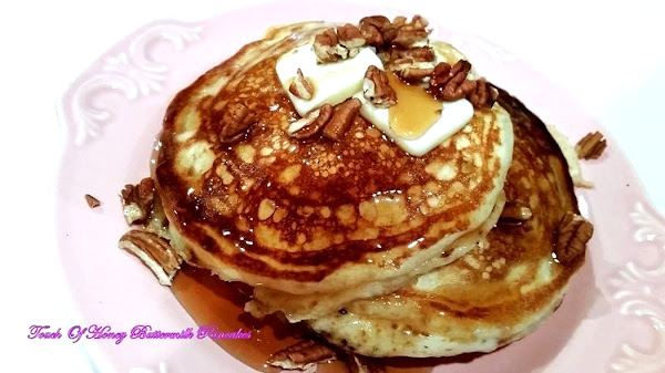 ~ Touch Of Honey Buttermilk Pancakes ~ Recipe
