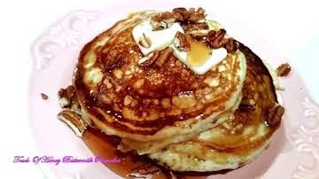 ~ Touch Of Honey Buttermilk Pancakes ~
