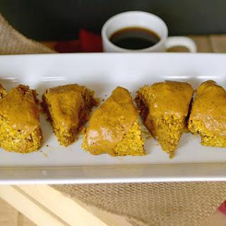Pumpkin Chai Oatmeal Scones {Vegan & Gluten-free}