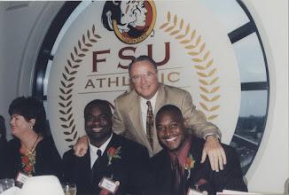 Photo: 2000 Hall of Fame Banquet - Bobby Bowden, Marvin Jones, Derrick Brooks