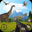 Deadly Dinosaur Hunter Revenge Fps Shooter Game 3D icon