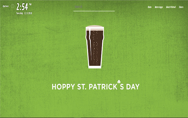St Patrick's day Wallpapers HD for NewTab