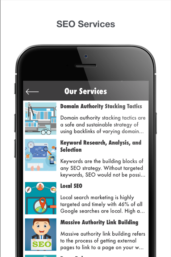newApps Agency SEO- screenshot