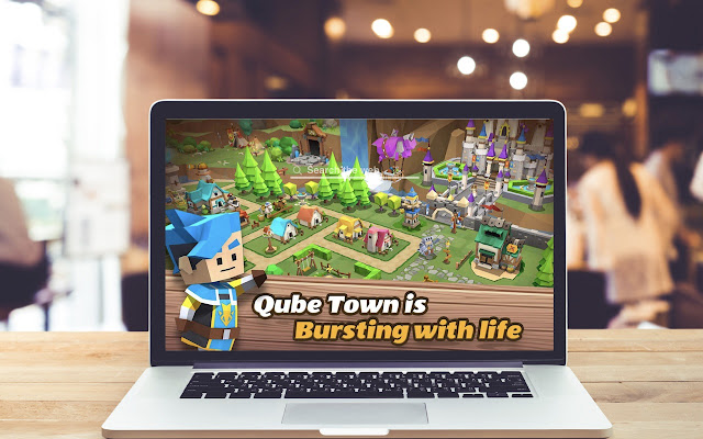 Qubetown HD Wallpapers Game Theme