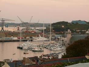 Photo: marina in Cornwall