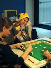 Photo: 2 w 1 - poduszka i czapeczka ;) Pomogły wygrać ręczniczek :P