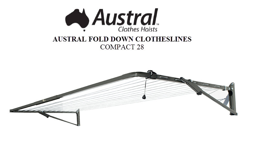 Austral Compact 28 Clothesline Owners Manual COMPCC COMPWG