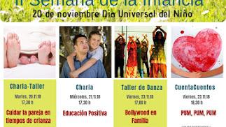 II Semana de la Infancia en Actívate Psicología para conmemorar el Día Universal de la Infancia.