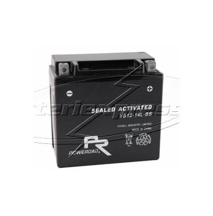 YTX18L-BS, MC batteri AGM 18Ah