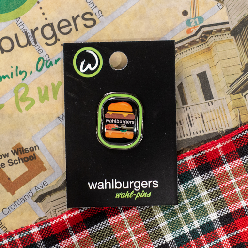 Collectible Burger Pin