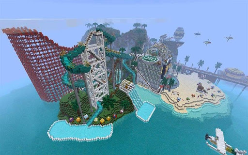 WaterPark maps for Minecraft 2.3.1 screenshots 3