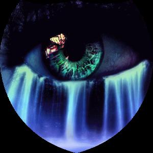 Eye waterfall live wallpaper apk