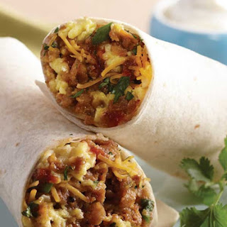 Italian Sausage Breakfast Burrito