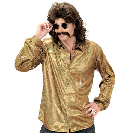 Disco Skjorta Guld
