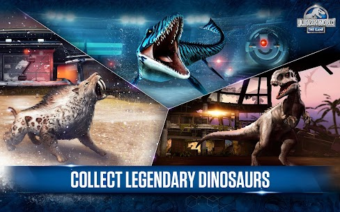 Jurassic World™: The Game Unlimited MOD 1.45.1 APK 4