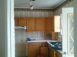 Photo: Basic Kitchen on it's way out Long Beach NY