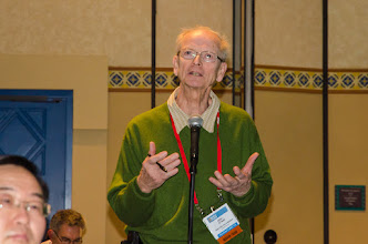 Photo: Eric Ritman poses a question