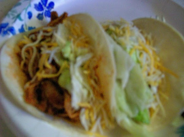 Serve in Warm Tortillas, Plain and rolled in tortillas, or by adding your Favorite...