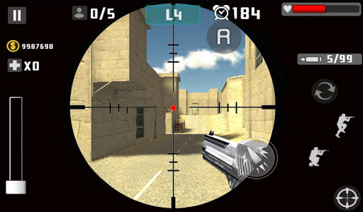 Gun Shot Fire War 1.2.2 screenshots 8