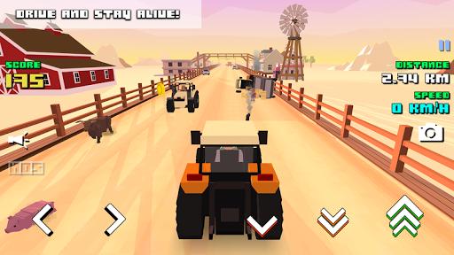 Blocky Farm Racing & Simulator - free driving game screenshots 9