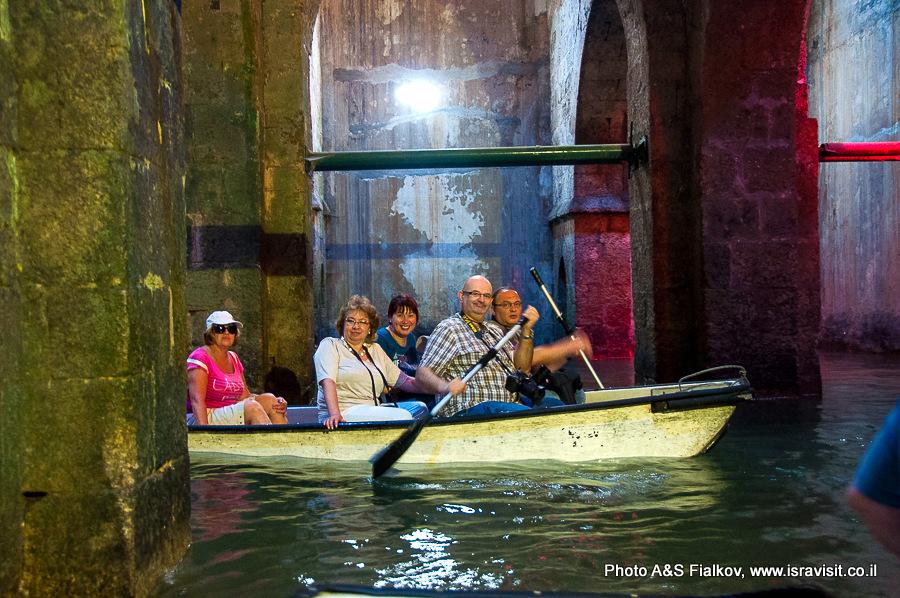 Арочный бассейн в Рамле - одна из популярных достопримечательностей