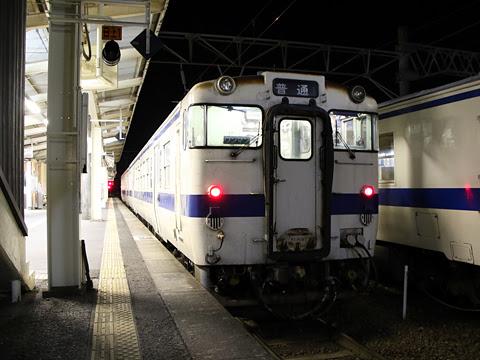 JR九州 吉都線・肥薩線 キハ47系 隼人駅にて