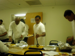 Photo: Miles @ his cooking class