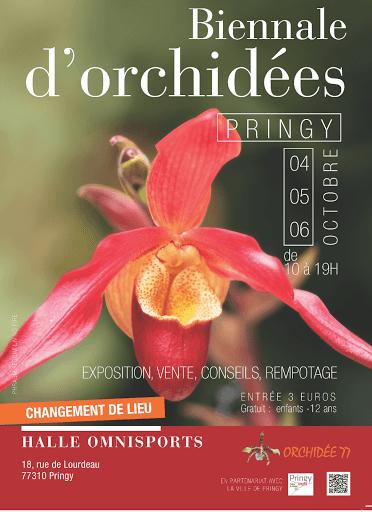 BIENNALE DE L'ORCHIDEE PRINGY 2019