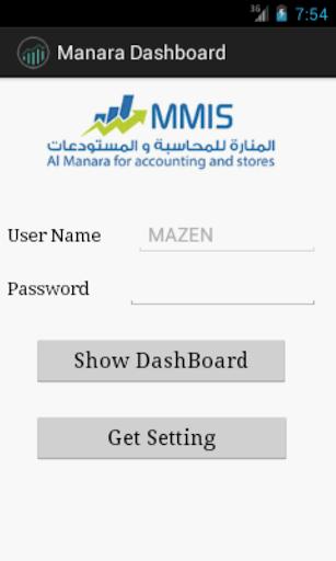 Manara Dashboard