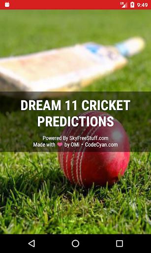 Dream 11 Cricket Predictions 1.1 screenshots 1