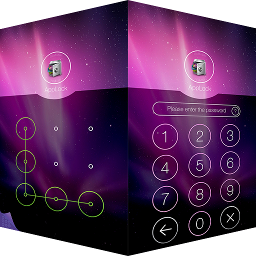 AppLock Theme Aurora