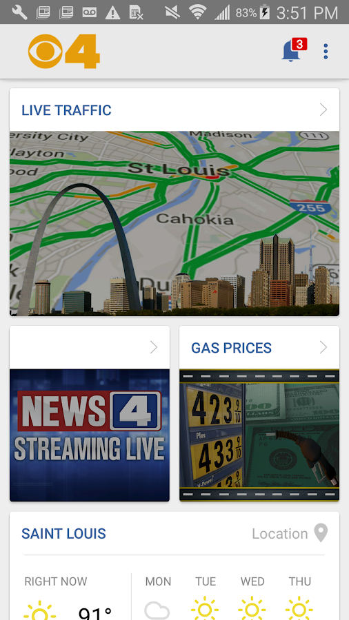 KMOV Traffic- screenshot