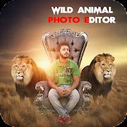 Wild Animal Photo Editor : Frame, Sticker, Effect