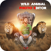 Wild Animal Photo Editor : Frame, Sticker, Effect