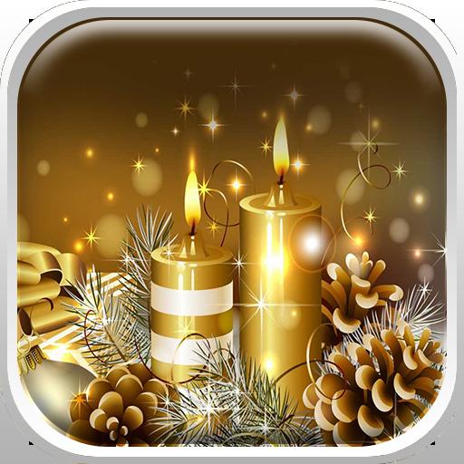 圣诞节动态壁纸高清 個人化 App LOGO-APP試玩