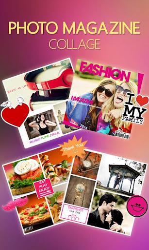 Photo Magazine Collage
