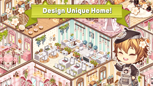 Kawaii Home Design - House Decorating Game  captures d'écran 1