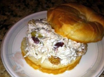 Better Than Deli Chicken Salad W/ Fruit And Nuts! Recipe