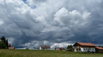 Photo: Drohgebärde des Himmels über Neuschönau