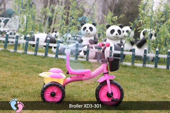 Xe đạp ba bánh trẻ em Broller XD3-301 3