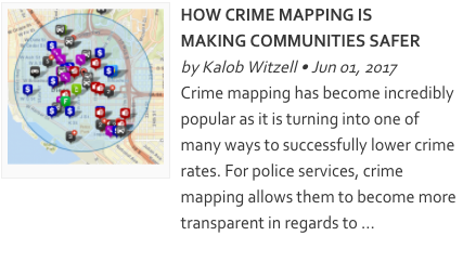 Crime Mapping Technology