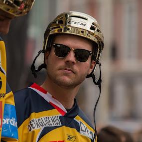 Nickolaj Jepsen by Lindberg-Photo.dk, Mathias Lindberg - Sports & Fitness Ice hockey ( lindberg, danmark, lindberg-photo, lindberg-photo.dk, mathias lindberg, denmark, esbjerg, torvet i esbjerg )