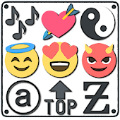 Symbols, emojis, letters, nicknames, text arts