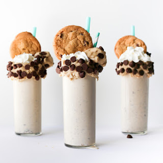 Chocolate Chip Cookie Dough Milkshake
