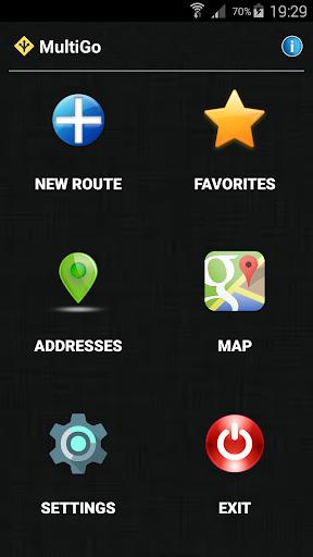 Download APK: MultiGo route planner and GPS v1.3