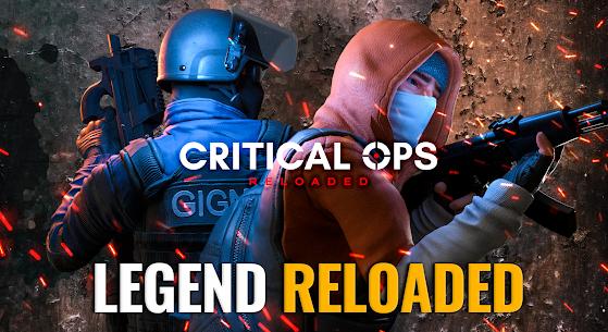 Critical Ops: Reloaded Mod Apk MOD (Enemy on Minimap) 1