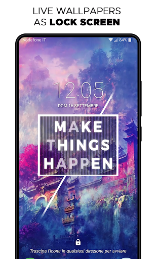 Screenshot for Live Wallpapers HD & Backgrounds 4k/3D - WALLOOP™ in Hong Kong Play Store