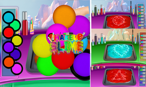 DIY Makeup Slime Maker! Super Slime Simulations screenshot 6