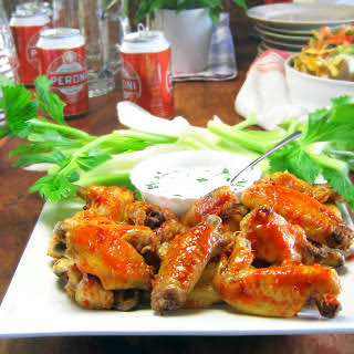 Spicy Chicken Wings - pressure cooker.